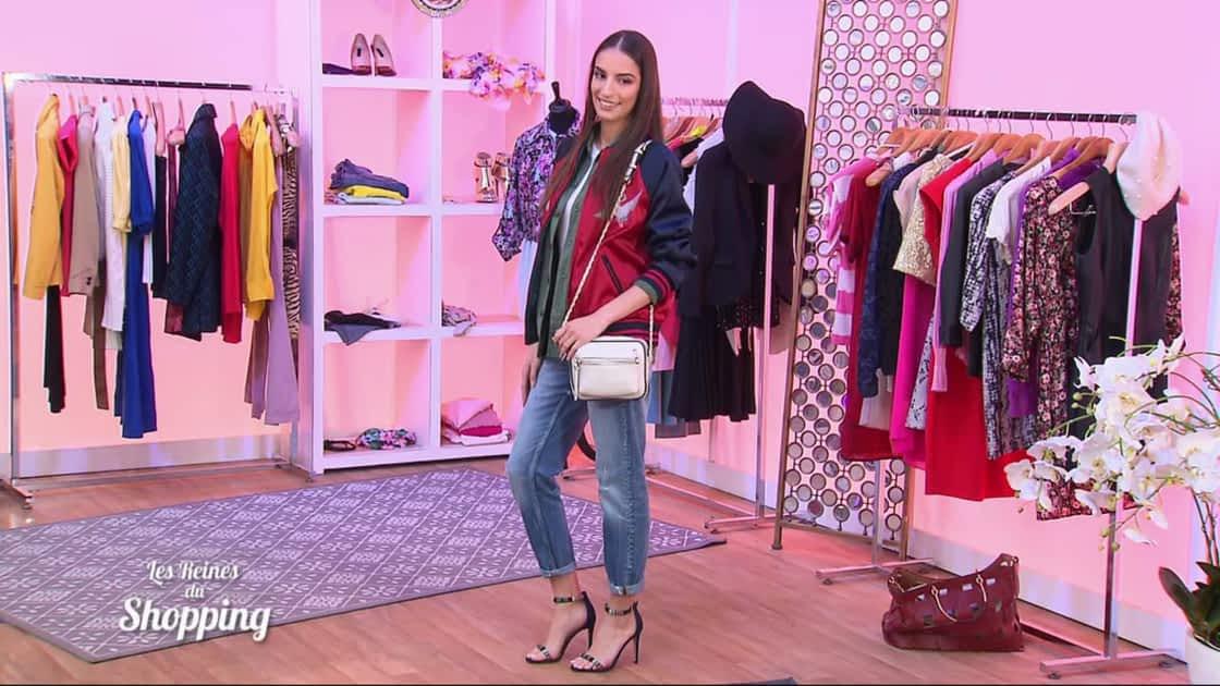 design de qualité 7a505 22a6b Les Reines du Shopping - La tenue idéale de Cristina Cordula pour être  stylée avec un bomber