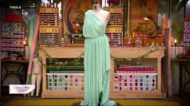 Cousu main : La robe demoiselle d'honneur de Cindy gréco-romaine
