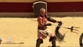 40 ans du Puy du Fou : Le spectacle de gladiateur de David Ginola
