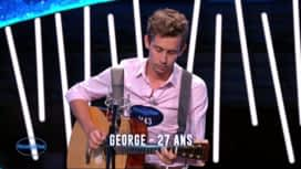Nouvelle Star : George - Change the world (Eric Clapton) / La mer (Charles Trenet)