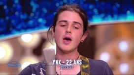 Nouvelle Star : YNK - Je me suis fait tout petit (Georges Brassens)