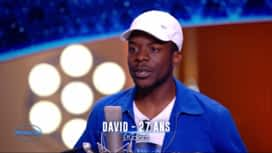 Nouvelle Star : David - Treasure (Bruno Mars) / His eye on the sparrow (Lauryn Hill, Tanya Blount)
