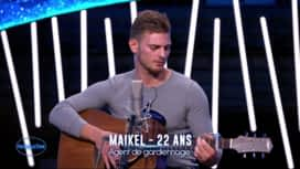 Nouvelle Star : Maikel - Stand by me (Ben E. King) / Les yeux de la mama (Kendji Girac) / If I ain't got you (Alicia Keys)