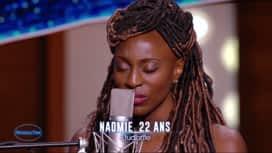 Nouvelle Star : Naomie – La bohème (Charles Aznavour)