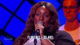 Nouvelle Star : Florence – I'll be there (The Jackson Five)