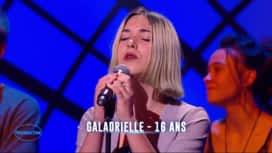 Nouvelle Star : Galadrielle - Pleurer des rivières (Viktor Lazlo)