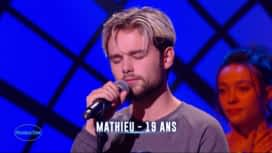 Nouvelle Star : Mathieu - Fragile (Sting)