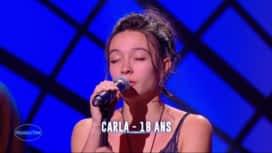 Nouvelle Star : Carla - Ne me quitte pas (Jacques Brel)